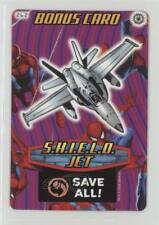 2008 Spider-Man Heroes & Villains Power Card Collection Base #262 SHIELD Jet 1i3