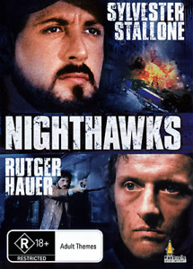 Sylvester Stallone Rutger Hauer Lindsay Wagner NIGHTHAWKS - ACTION THRILLER DVD
