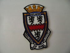 US NAVY PATCH USS Aylwin (FF-1081)  / MARINE USA