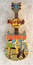 HARD ROCK CAFE BRUSSELS V16 CITY TEE GUITAR SERIES PIN # 94133