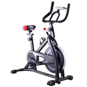 Spinning Bike Indoor Cycling Exercise Trainer Cardio Workout Machine Home Gym