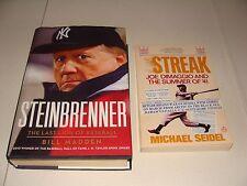 STREAK Joe Dimaggio M Seidel George STEINBRENNER B Madden YANKEES Baseball Books