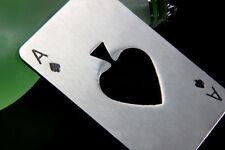 Playing Card Ace of Spade Poker Zebra Bar Tool Bottle Soda Beer Cap Opener Z16B8