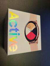 In Box Samsung Galaxy Watch Active 40mm - Rose Gold SM-R500