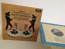 FRUHBECK DE BURGOS - SUITE ESPANOLA - DECCA SXL 6355 - UK WIDEBAND STEREO PROMO!