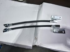 NEW PAIR of FRONT BRAKE HOSES SUIT FORD FALCON . XW XY & XA H1047 H1048