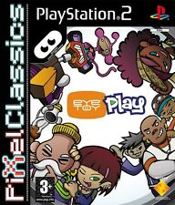EyeToy: Play 1 for Sony PlayStation 2 PAL (PS3 60GB Compatible) Kids Complete