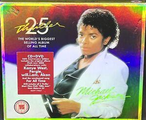 MICHAEL JACKSON - THRILLER 25, CD + DVD ALBUM, (2008).