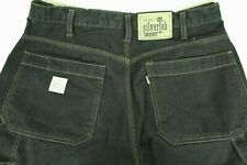 "Vintage Levi'S Silvertab Men""S Black Wide Leg Carpenter Jeans Size 32/32 Vgc!"