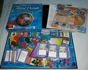 TRIVIAL PURSUIT GLOBETROTTER Quiz Board Game Complete