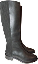 7a72bc655c35 Aquatalia Giovanna Weatherproof Tall Boots Riding Quilted Flat Booties 10