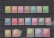 Germany 702-21 Very Light Hinged ( 713=Mnh but has small area of missing gum)