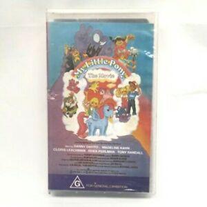 My Little Pony  - THE MOVIE -  VINTAGE VHS -