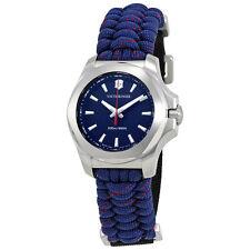 Victorinox I.N.O.X. V Blue Dial Blue Textile Ladies Watch 241770
