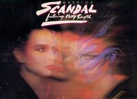 SCANDAL (featuring PATTY SMYTH) - WARRIOR (LP CBS 1984)