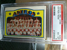 1972 O-PEE-CHEE # 282 Astros Team PSA EX/MT 6                   POP OF 1