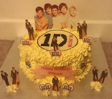 Incredible 1 Direction Cake Topper For Sale Ebay Funny Birthday Cards Online Elaedamsfinfo