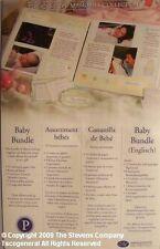 Rare New Creative Memories Baby Bundle Enhancements
