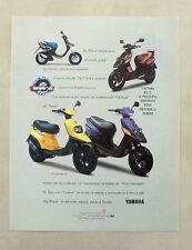 E526 - Advertising Pubblicità - 1997 - YAMAHA BW'S BIG WHEELS