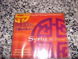SYRIA RIFLESSO CD SINGOLO NUOVO SIGILLATO 1998