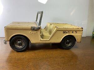 RARE Vintage 1960s Buddy L Desert Rats Colt Jeep Truck