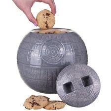 Official Star Wars Death Star Design Ceramic Cookie Jar Biscuit Tin - Boxed VII