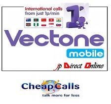 VECTONE PAY AS GO MOBILE SIM CARD EE DATA STANDARD MICRO NANO TRIPLE CUT PAYG