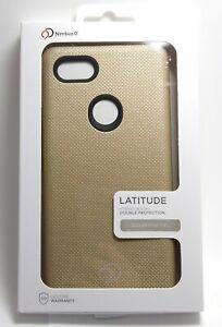 Google Pixel 3 XL Gold Nimbus9 Latitude Case Qi Enabled Wireless charging