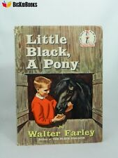 Little Black, A Pony Walter Farley 1961 First Edition Dust Jacket Beginner Seuss
