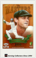 2009-10 Select Cricket Trading Cards Masters Acetate Gem Card MG5 Adam Gilchrist