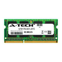 1GB DDR3 PC3-10600 1333MHz SODIMM (HP 578176-001 Equivalent) Memory RAM