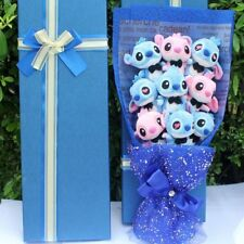 Bunch of 11 Lilo Stitch Doll Toy flowers Creative Gift Box gifts Valentine's Day
