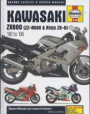 Reparaturhandbuch Kawasaki ZZR 600 D/E 90-06
