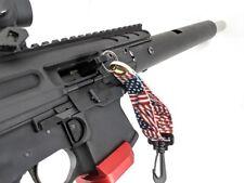 PATRIOTIC SHOTGUN RIFLE CHAMBER SAFETY FLAG