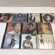 Lot of 10‼ R&B Pop CD's Natalie Cole/Tina Turner/Anita Baker/Vanessa Williams ++