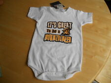 West Virginia Mountaineers Infant One Piece Outfit - Size 12 Months - NWT