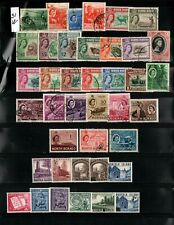 BRITISH COLONIES LOT OF OLD STAMPS # 31W        SF