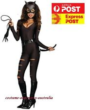 F1425 Night Prowler Costume Adult Catwoman Catsuit Black Cat Cosplay Fancy Dress