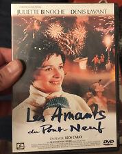 Les Amants du Pont-Neuf DVD Juliette Binoche Denis Lavant Klaus-Michael
