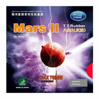 Yinhe Mars II factory tuned table tennis rubber, Maximum thickness
