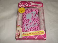 Barbie Glamtastic Hard shell Case for iPod Touch 4 Pink Zebra NEW FREE Shipping