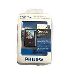 Philips Digital Audio Video Player GoGear SA3020 2GB Blue Open Box Read Info
