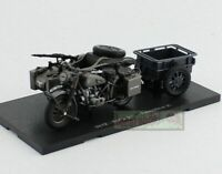 1/24 Atlas SS18 BMW R75 Panzerfaust 30 Motorcycle Diecast model