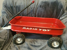 Vintage RADIO TOT Coaster Red Wagon Flyer CLEAN