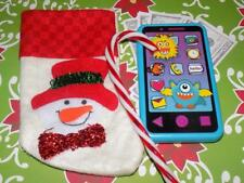 "Snowman Christmas Stocking fits American Girl Dolls Our Generation Dolls 16"" 18"""