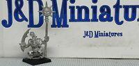 GW Citadel Warhammer Fantasy Battle Orcs & Goblins Big Un Command Group Standard