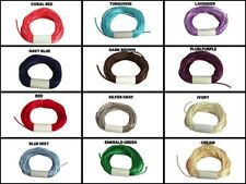 5 Yds - 2mm Satin Rattail Thick Cord Rat Tail Jewelry Making Braid Choose Color