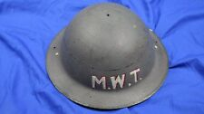 WW2 British civil Defence BRODIE STEEL HELMET shell - Tommy Doughboy