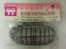 Vintage Hair Foundation! Coiffure! Chignon! Unique old hard to find retro Item!