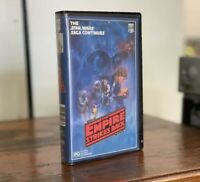 STAR WARS THE EMPIRE STRIKES BACK rare mint Australian VHS Video CBS-Fox 2nd Ed